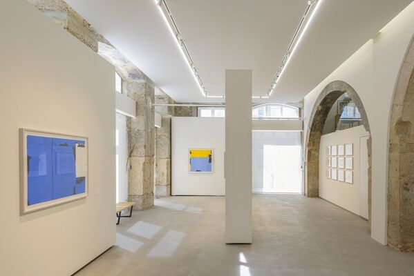 The Sound of Drawing - Hanns Schimansky, installation view