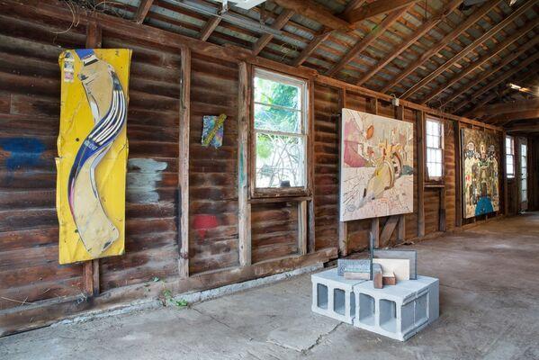 """Summer Fling - The Barn Show"", installation view"