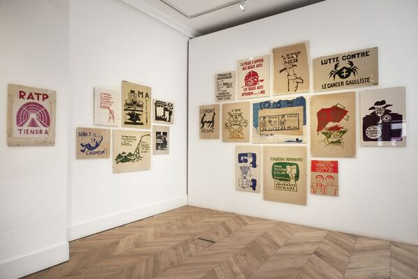 Mai 68: Posters from the Revolution, installation view
