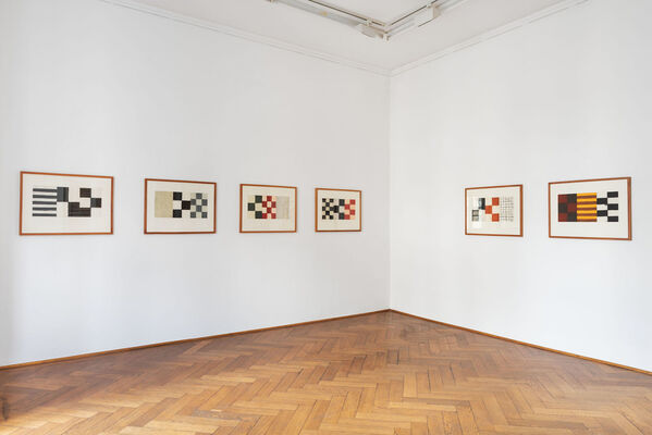 SEAN SCULLY - Early Prints, installation view