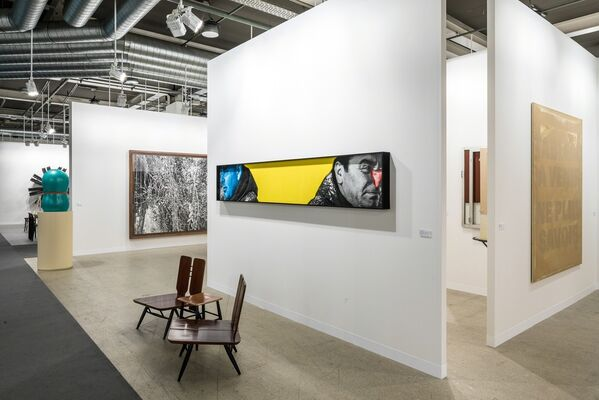Mai 36 Galerie at Art Basel 2019, installation view