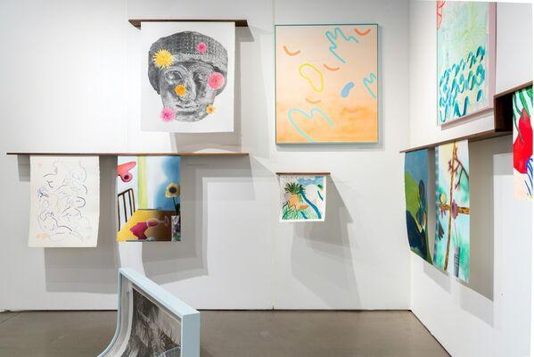 Projet Pangée at Papier17, installation view