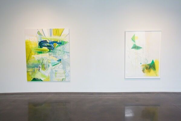 Lorraine Tady | Sparklines: Drawings, Paintings, Prints, installation view