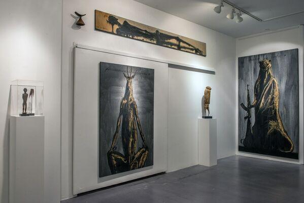 JOSÉ BEDIA - TRIBAL AFFINITIES, installation view
