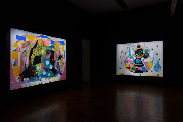 It's Now or Never, installation view