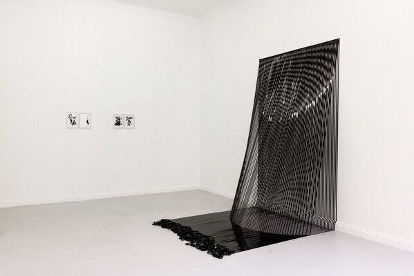 Active Texture, installation view