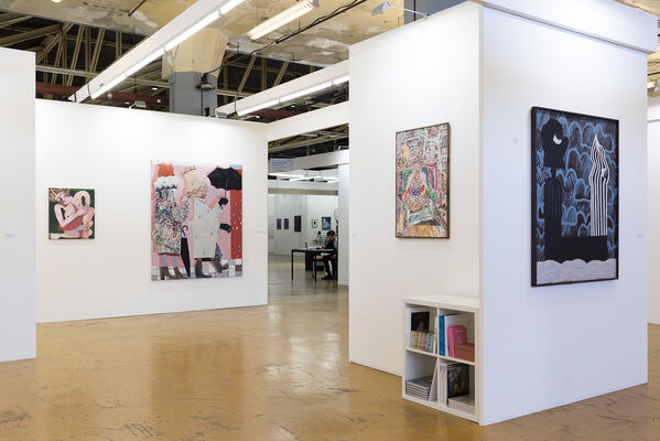 PLUS-ONE Gallery at Art Rotterdam 2020, installation view