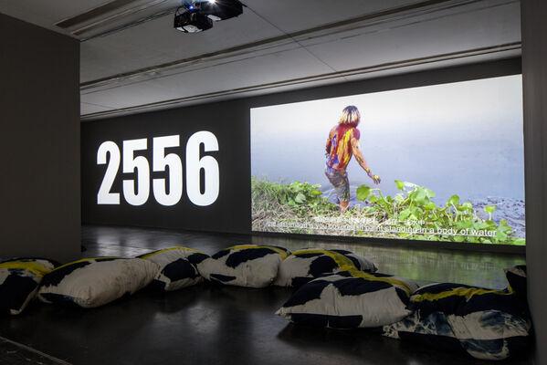 Korakrit Arunanondchai: 2558, installation view