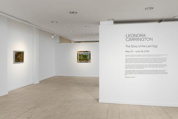 Leonora Carrington: The Story of the Last Egg, installation view