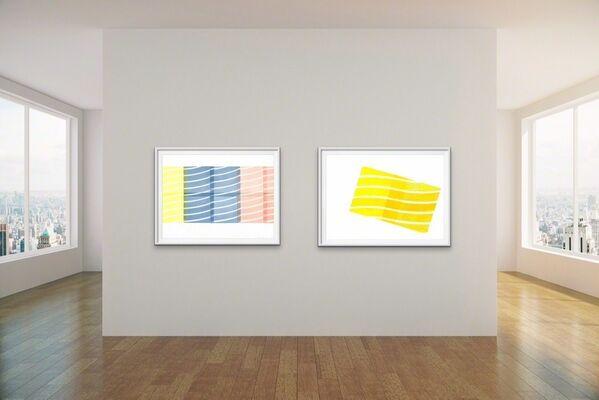 Emily Weiskopf: Relief Prints, installation view