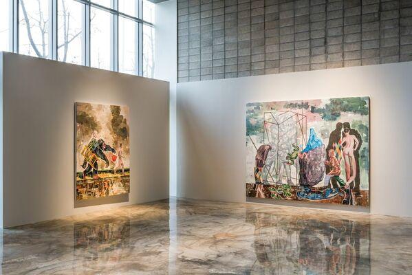 Nicky Nodjoumi : Please Sit Down, installation view