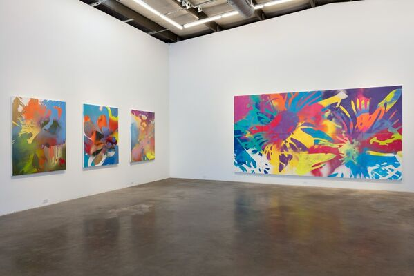 ZEKE WILLIAMS: Flagrant, installation view