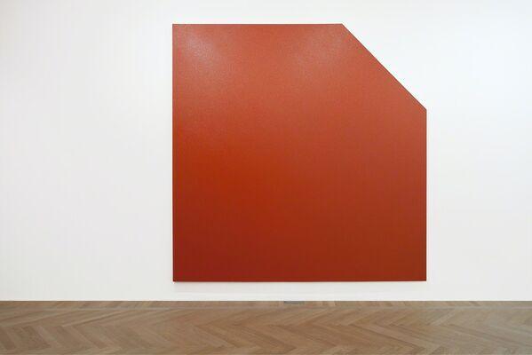 Duane Hanson Olivier Mosset, installation view