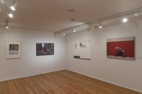 Regarding the Figure, installation view