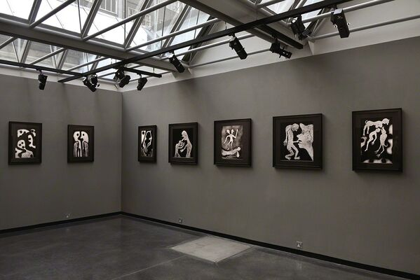 Roger Ballen: The Theatre of Apparitions, installation view