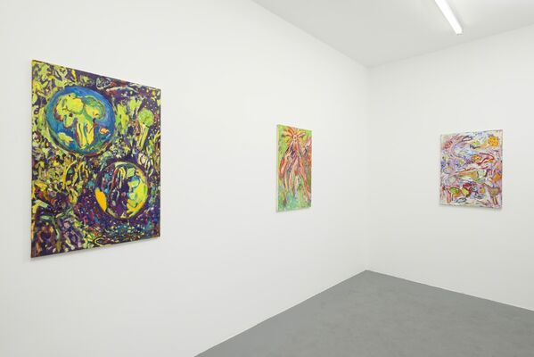 Peaceful Alien, installation view