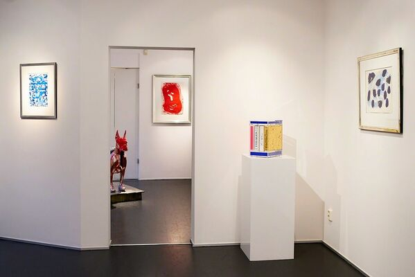 Sam Francis is back in town!, installation view