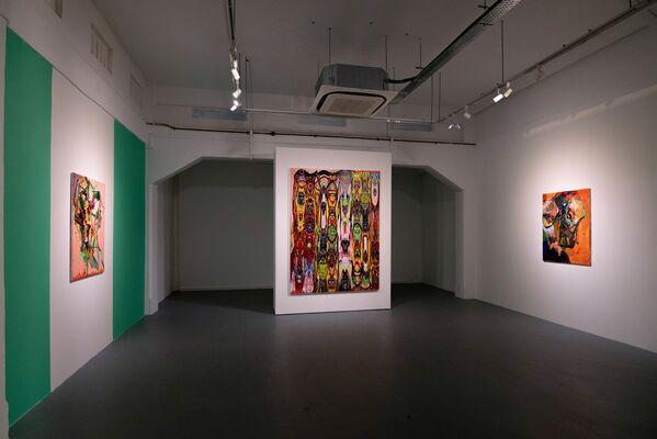 眼神 - EYE BY GERALD TAY     CATALYST BY JAY HO, installation view