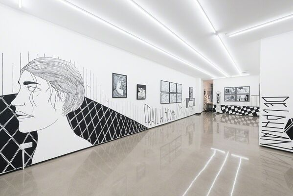 Benjamin Murphy: Gilded Chaos, installation view