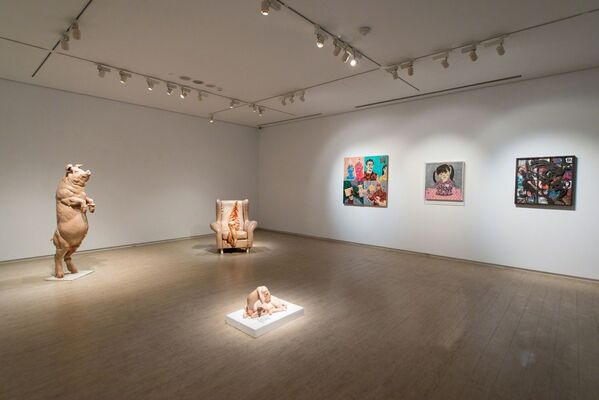 Intermedium, installation view