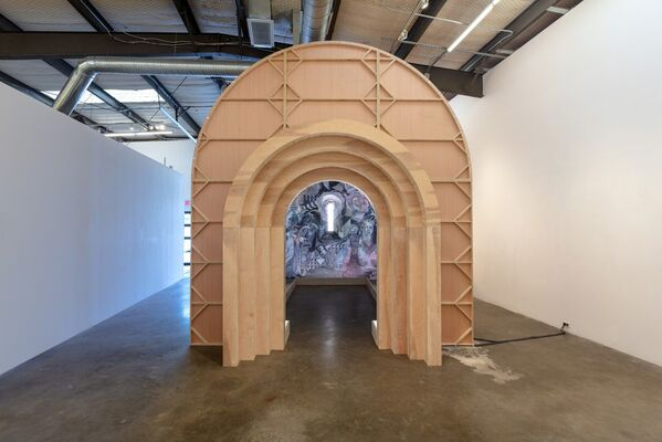 Francisco Moreno: The Chapel and Accompanying Works, installation view