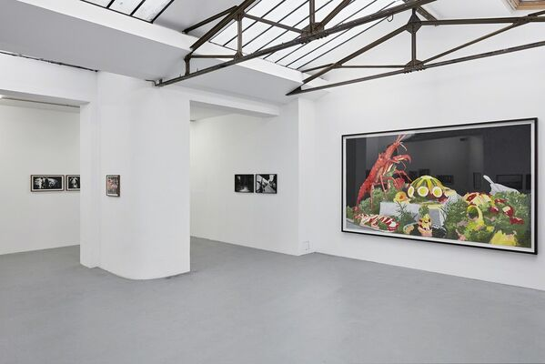 """Marcel van Eeden """" A Burst of Revelry From the Forecastle"""", installation view"""
