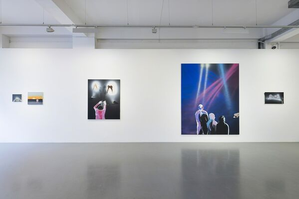 Shitty Disco, installation view