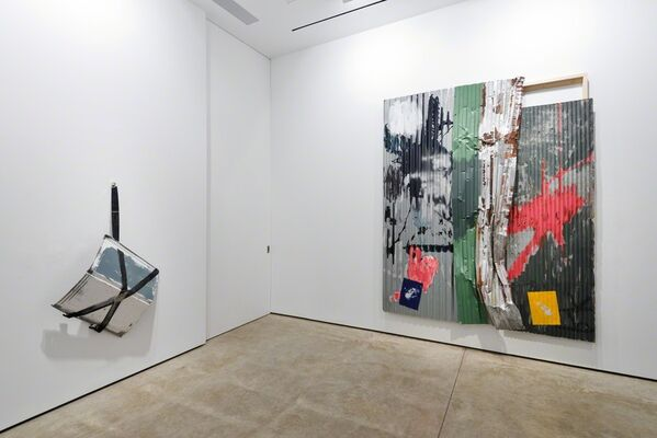 Rosy Keyser: Half-Light Periscope, installation view