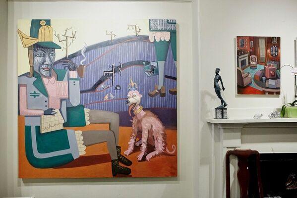 Hannah Barrett's Imaginarium, installation view