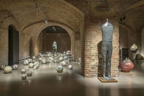 Guerrieri, Cavalli e Centauri, installation view