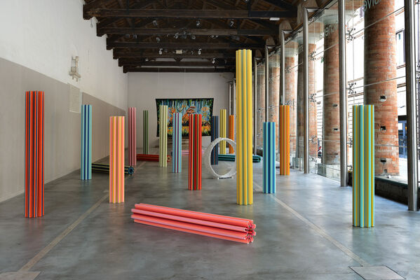 Clima at Material Art Fair, installation view