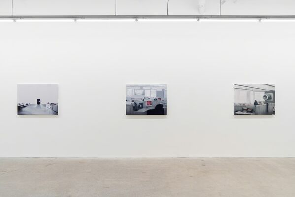 Variable Zones, installation view