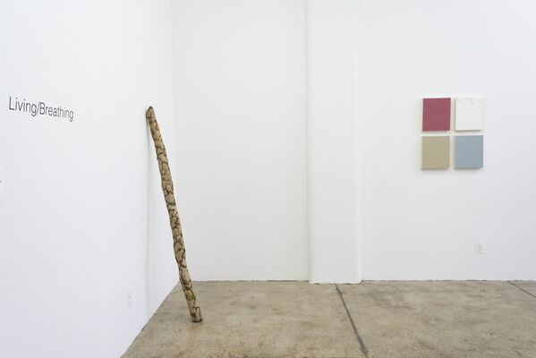 Living/Breathing, installation view