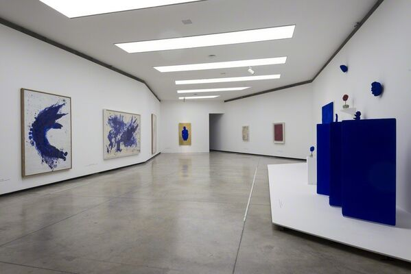 Yves Klein. Retrospective, installation view