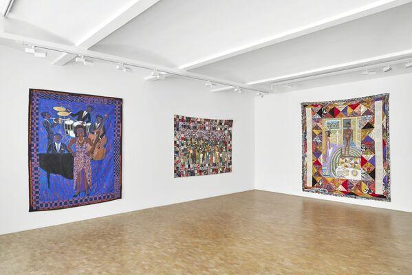 Faith Ringgold, installation view
