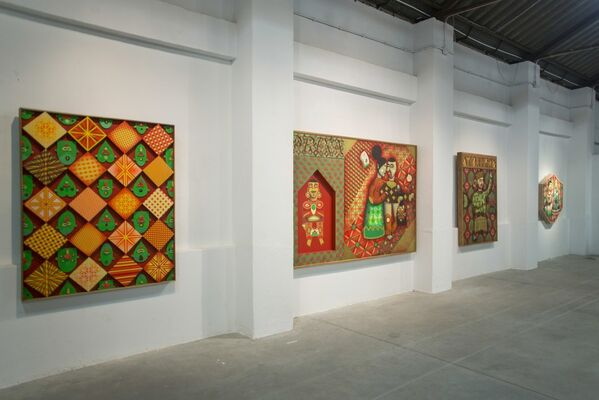 O Enterro do Galo (The Burial of the Rooster), installation view