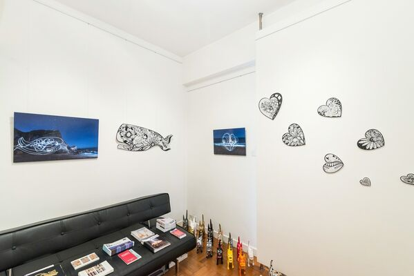 Kelsey Montague and Joyce Yung: What Lifts You, installation view