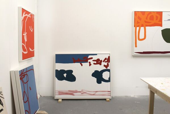Series Launches in November, installation view