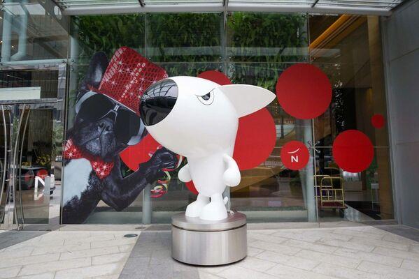 An Unprecedented Poren Huang Retrospective at Novotel Taipei Taoyuan International Airport, installation view
