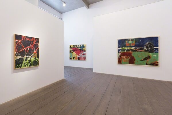 Fabricio Lopez / Yamatãma, o antitrauma [Yamatãma - the anti-trauma], installation view