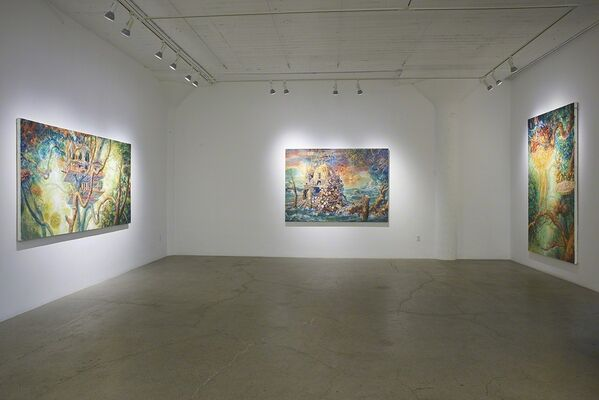 "Julie Heffernan, ""Waters Rise"", installation view"