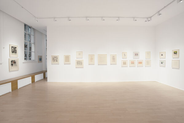 Antony Donaldson : Paperwork from 1960 to 2019, installation view