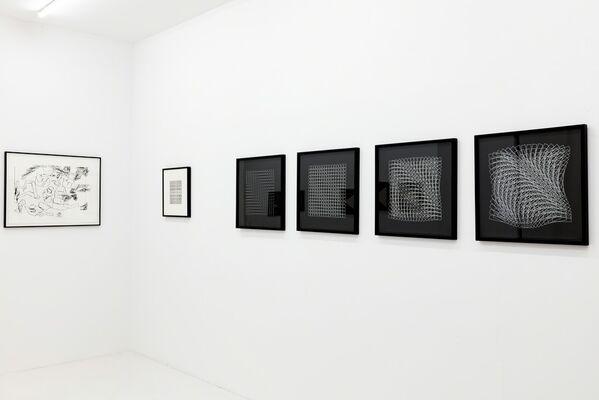 Computer-Grafik 1984, installation view