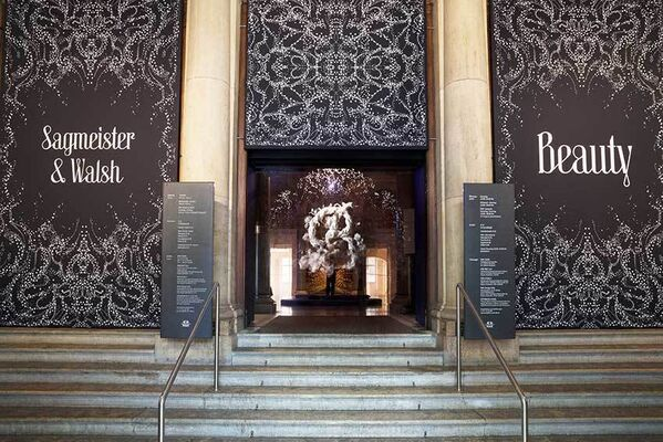 SAGMEISTER & WALSH: Beauty, installation view