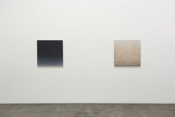 "Richard Bruland's ""Peripheries"", New  Abstract Paintings, installation view"