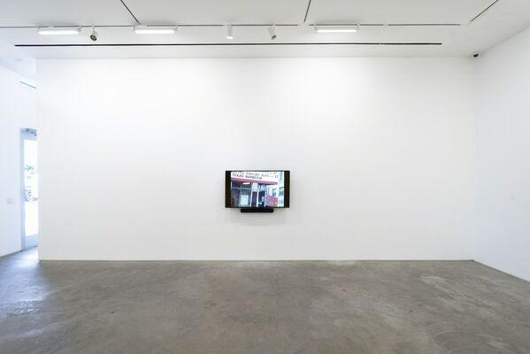 Jonas Mekas, Notes From Downtown, installation view