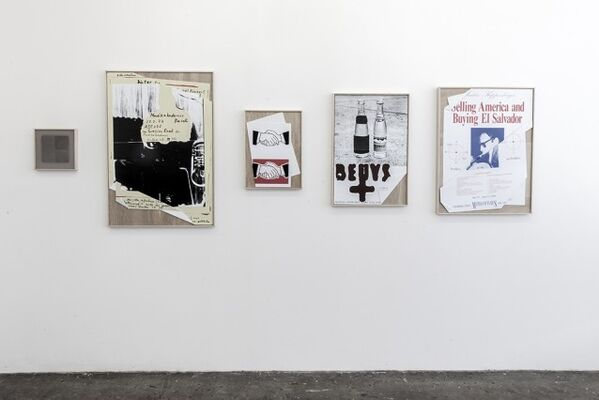 Brian Roettinger '8 Announcements', installation view