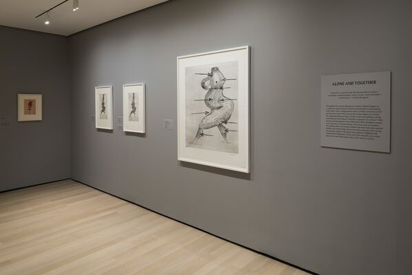 Louise Bourgeois: An Unfolding Portrait, installation view