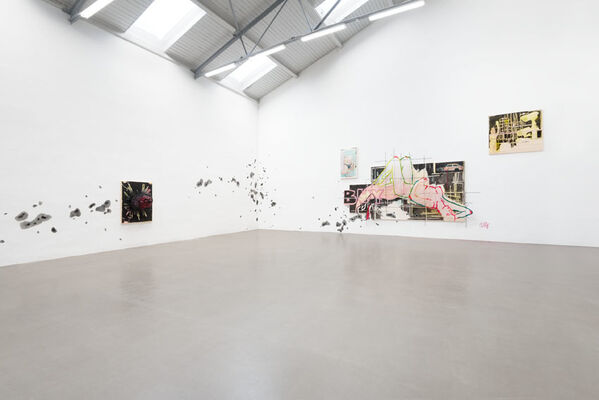 Birgit Brenner: Marshmallow Mood, installation view