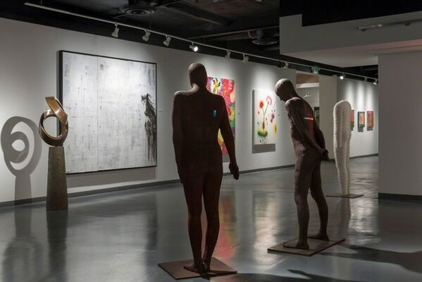 The Contemporary Figure, installation view